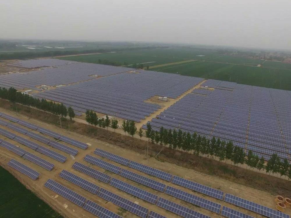 聊城高唐30MW光伏发电工程
